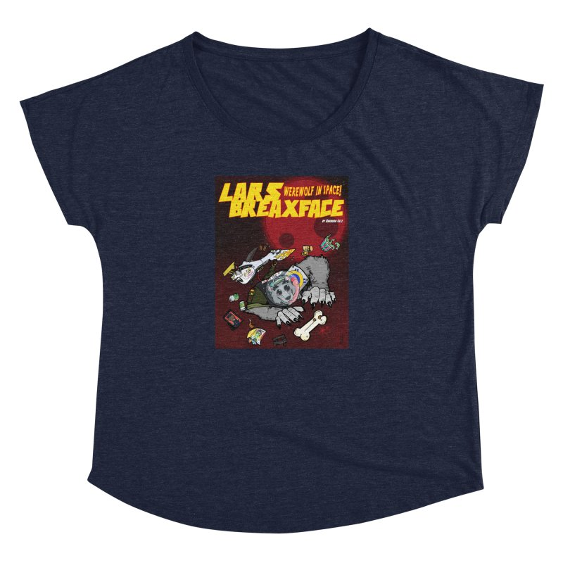 Lars Breaxface Cover - Brian Gonnella Women's Dolman Scoop Neck by Spaceboy Books LLC's Artist Shop