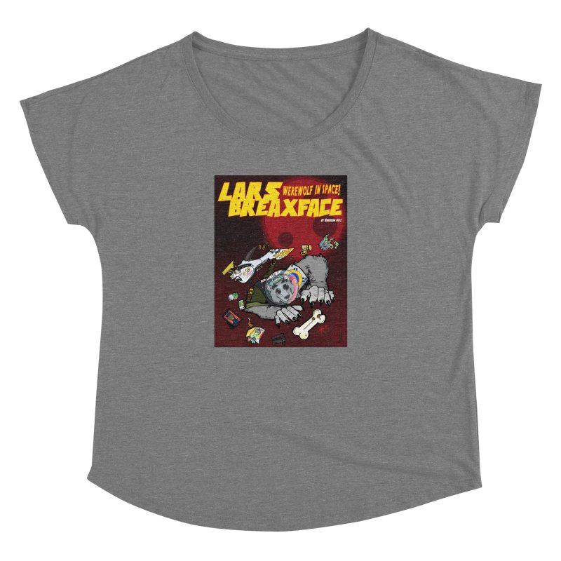 Lars Breaxface Cover - Brian Gonnella Women's Dolman Scoop Neck by Spaceboy Books LLC's Artist Shop