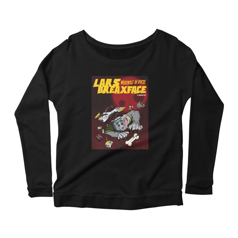 Lars Breaxface Cover - Brian Gonnella Women's Scoop Neck Longsleeve T-Shirt by Spaceboy Books LLC's Artist Shop