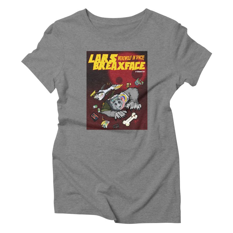 Lars Breaxface Cover - Brian Gonnella Women's Triblend T-Shirt by Spaceboy Books LLC's Artist Shop
