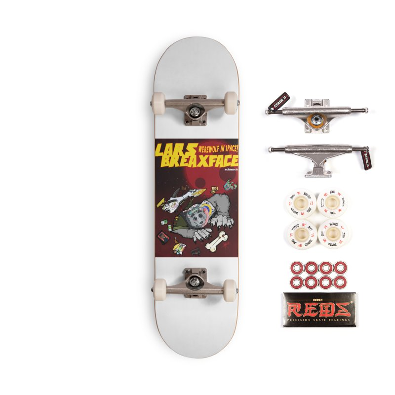 Lars Breaxface Cover - Brian Gonnella Accessories Complete - Pro Skateboard by Spaceboy Books LLC's Artist Shop