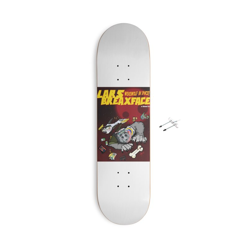 Lars Breaxface Cover - Brian Gonnella Accessories With Hanging Hardware Skateboard by Spaceboy Books LLC's Artist Shop