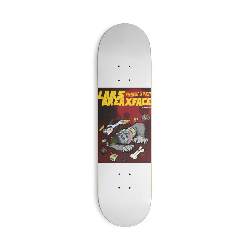 Lars Breaxface Cover - Brian Gonnella Accessories Deck Only Skateboard by Spaceboy Books LLC's Artist Shop