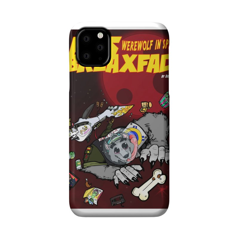 Lars Breaxface Cover - Brian Gonnella Accessories Phone Case by Spaceboy Books LLC's Artist Shop