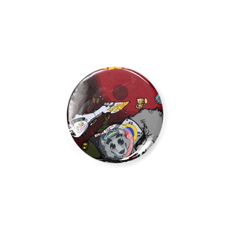 Lars Breaxface Cover - Brian Gonnella Accessories Button by Spaceboy Books LLC's Artist Shop