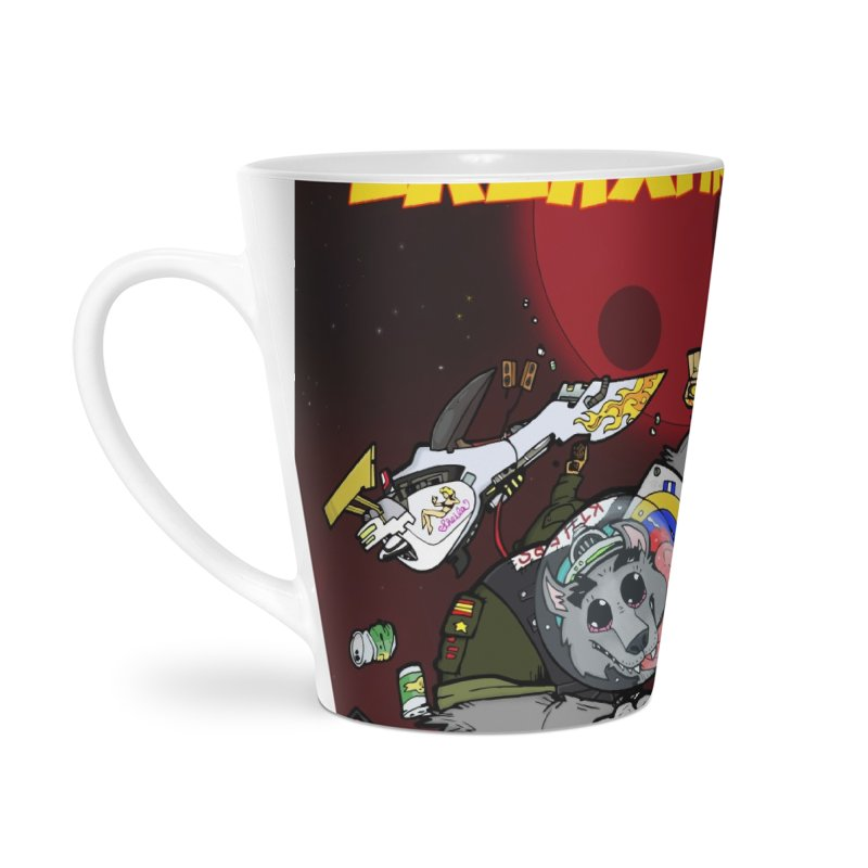 Lars Breaxface Cover - Brian Gonnella Accessories Latte Mug by Spaceboy Books LLC's Artist Shop
