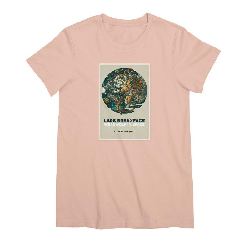Lars Breaxface Cover - Joe Mruk Women's Premium T-Shirt by Spaceboy Books LLC's Artist Shop