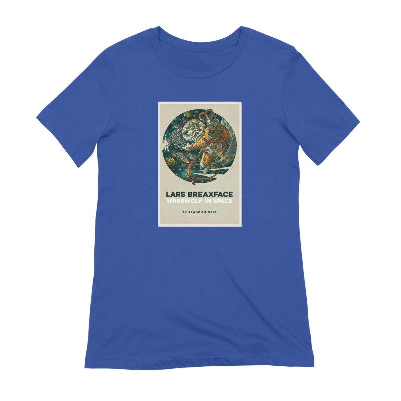 Lars Breaxface Cover - Joe Mruk Women's Extra Soft T-Shirt by Spaceboy Books LLC's Artist Shop
