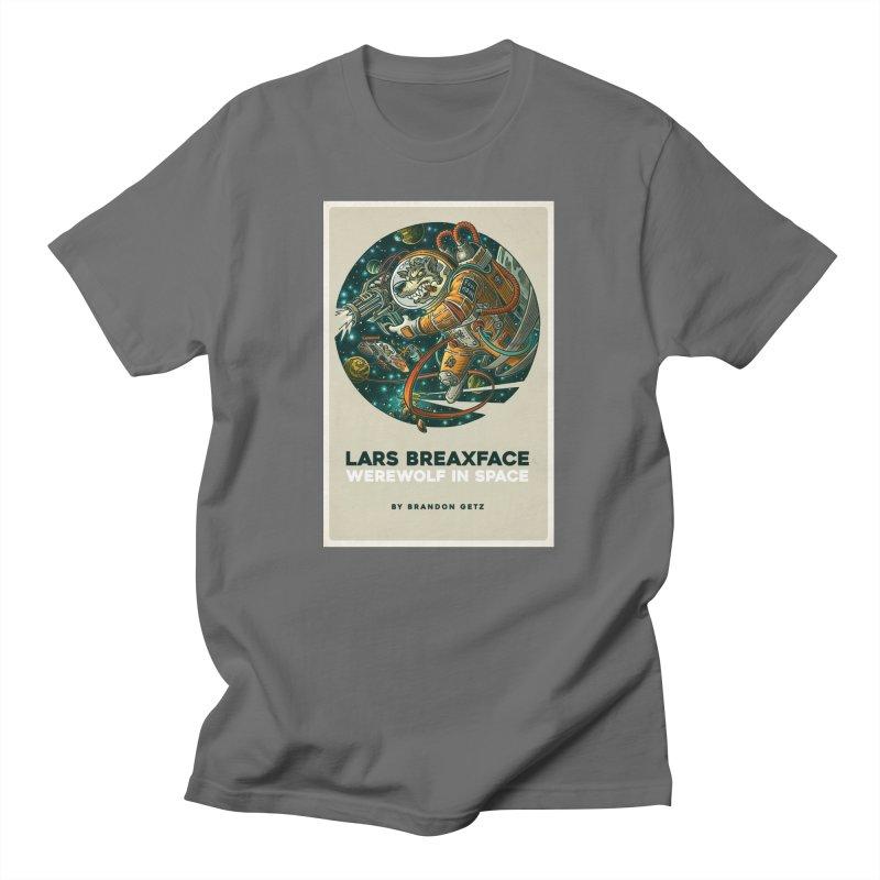 Lars Breaxface Cover - Joe Mruk Men's T-Shirt by Spaceboy Books LLC's Artist Shop