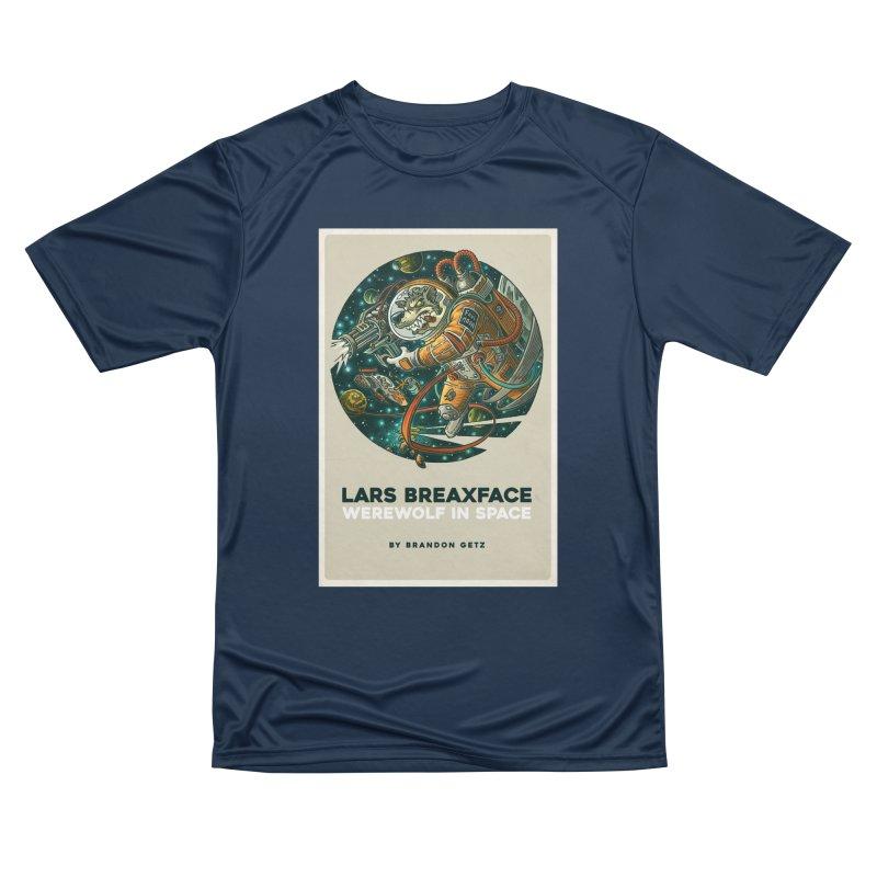 Lars Breaxface Cover - Joe Mruk Women's Performance Unisex T-Shirt by Spaceboy Books LLC's Artist Shop