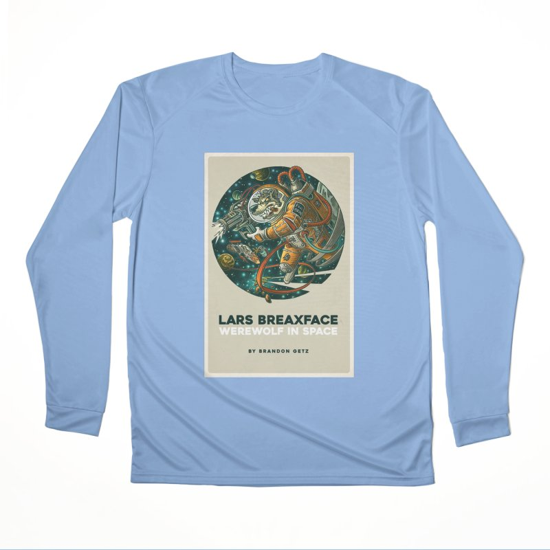 Lars Breaxface Cover - Joe Mruk Men's Performance Longsleeve T-Shirt by Spaceboy Books LLC's Artist Shop