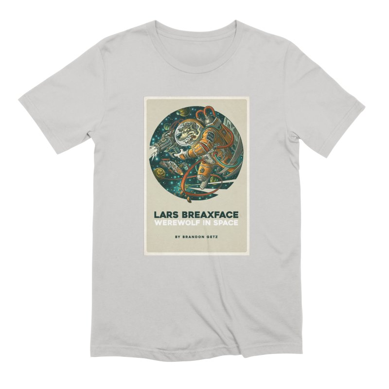 Lars Breaxface Cover - Joe Mruk Men's Extra Soft T-Shirt by Spaceboy Books LLC's Artist Shop