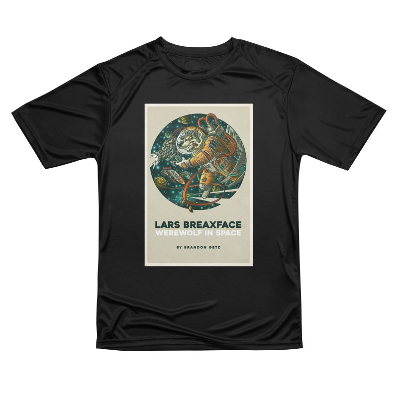 Lars Breaxface Cover - Joe Mruk Men's Performance T-Shirt by Spaceboy Books LLC's Artist Shop