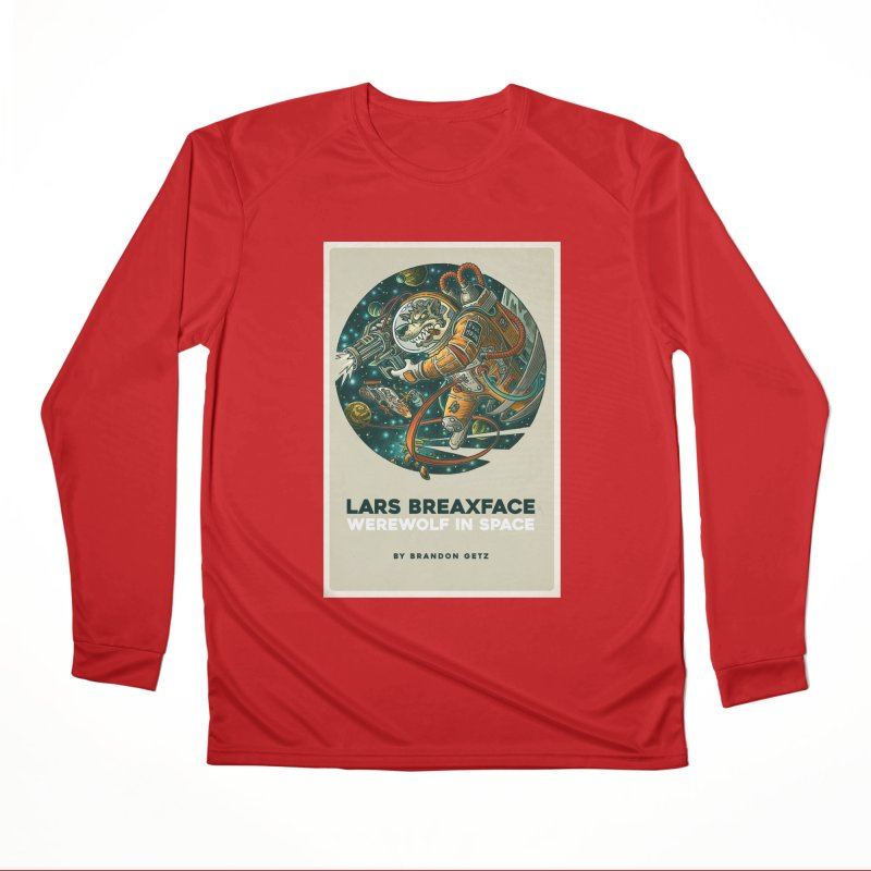 Lars Breaxface Cover - Joe Mruk Women's Performance Unisex Longsleeve T-Shirt by Spaceboy Books LLC's Artist Shop