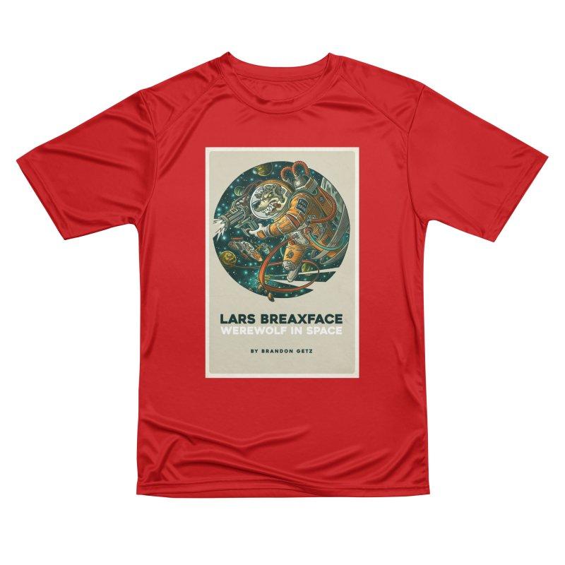Lars Breaxface Cover - Joe Mruk Men's Performance T-Shirt by Spaceboy Books LLC's Artist Shop
