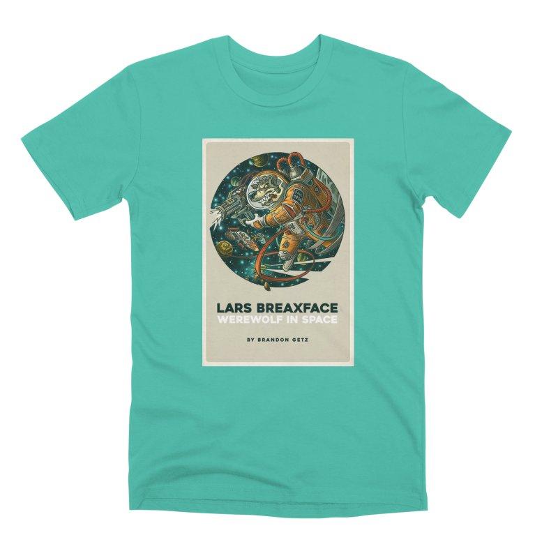 Lars Breaxface Cover - Joe Mruk Men's Premium T-Shirt by Spaceboy Books LLC's Artist Shop