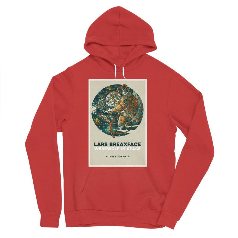 Lars Breaxface Cover - Joe Mruk Men's Pullover Hoody by Spaceboy Books LLC's Artist Shop