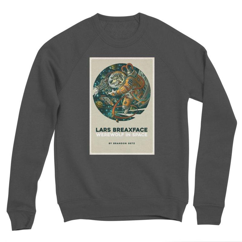 Lars Breaxface Cover - Joe Mruk Women's Sponge Fleece Sweatshirt by Spaceboy Books LLC's Artist Shop