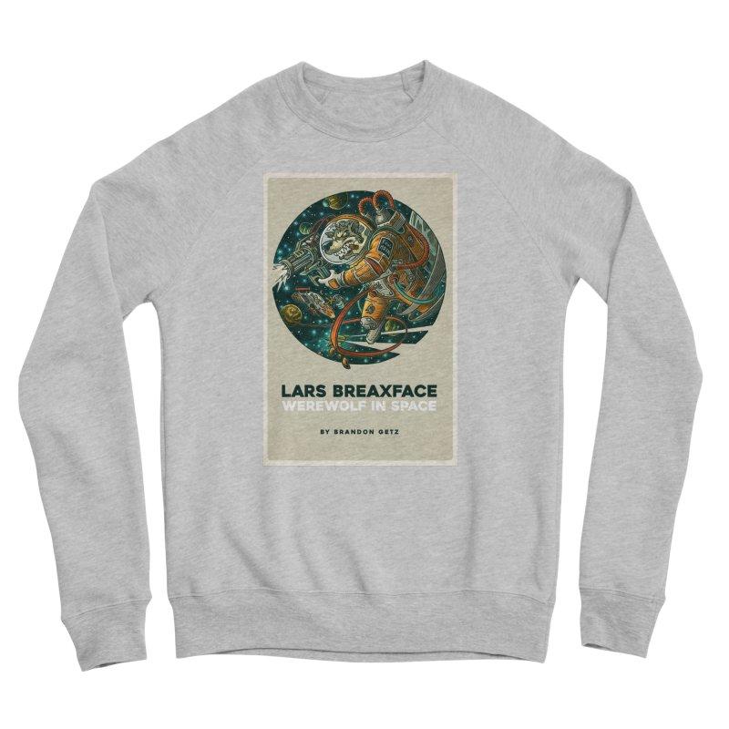 Lars Breaxface Cover - Joe Mruk Men's Sponge Fleece Sweatshirt by Spaceboy Books LLC's Artist Shop