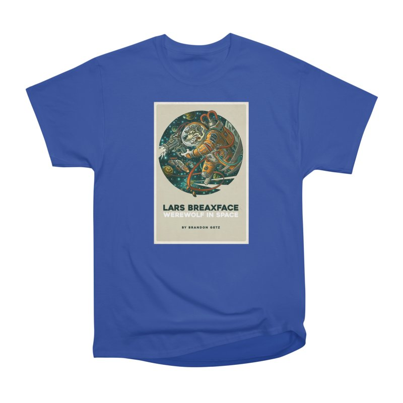 Lars Breaxface Cover - Joe Mruk Men's Heavyweight T-Shirt by Spaceboy Books LLC's Artist Shop
