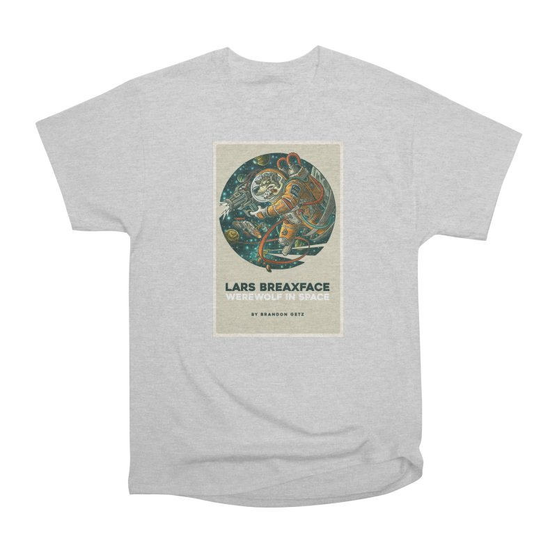 Lars Breaxface Cover - Joe Mruk Men's Heavyweight T-Shirt by Spaceboy Books LLC's Artist Shop