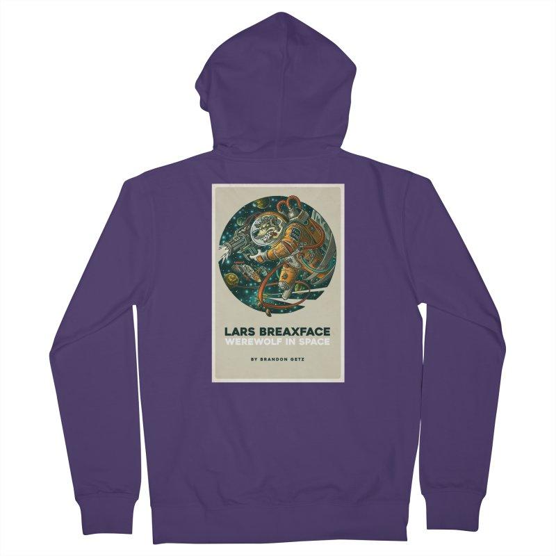 Lars Breaxface Cover - Joe Mruk Women's French Terry Zip-Up Hoody by Spaceboy Books LLC's Artist Shop