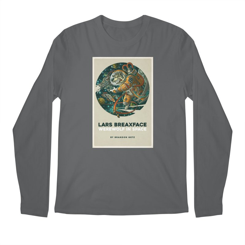 Lars Breaxface Cover - Joe Mruk Men's Regular Longsleeve T-Shirt by Spaceboy Books LLC's Artist Shop