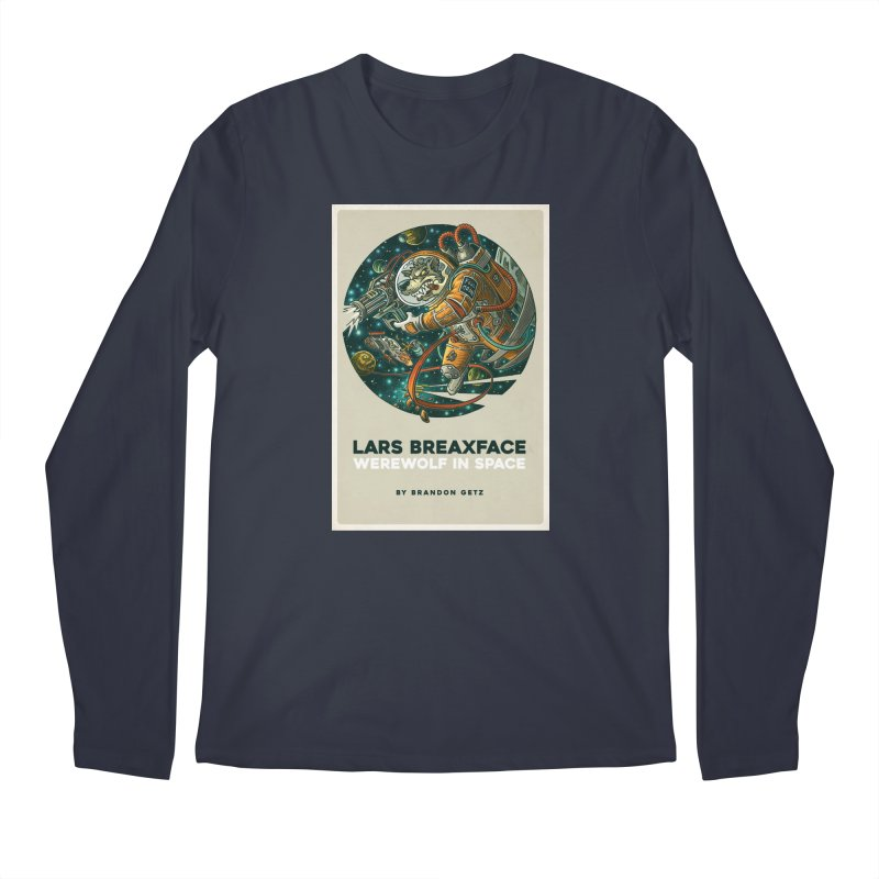 Lars Breaxface Cover - Joe Mruk Men's Regular Longsleeve T-Shirt by Spaceboy Books LLC's Artist Shop