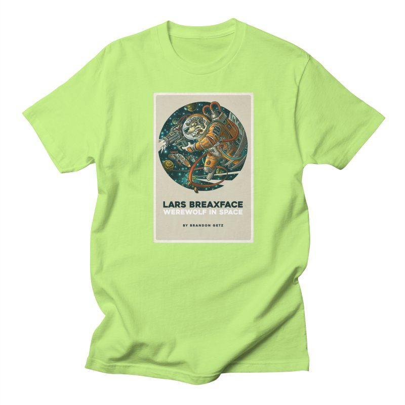 Lars Breaxface Cover - Joe Mruk Men's Regular T-Shirt by Spaceboy Books LLC's Artist Shop