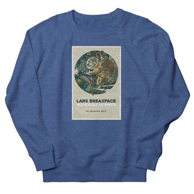 Lars Breaxface Cover - Joe Mruk Men's Sweatshirt by Spaceboy Books LLC's Artist Shop