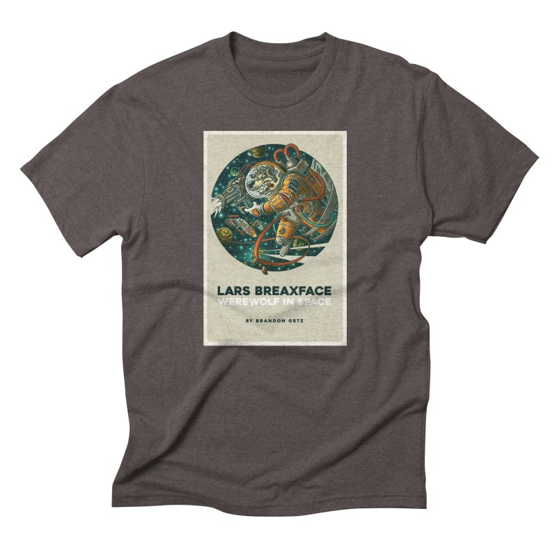 Lars Breaxface Cover - Joe Mruk Men's Triblend T-Shirt by Spaceboy Books LLC's Artist Shop