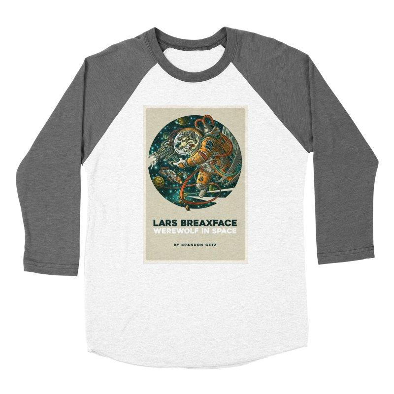 Lars Breaxface Cover - Joe Mruk Men's Baseball Triblend Longsleeve T-Shirt by Spaceboy Books LLC's Artist Shop