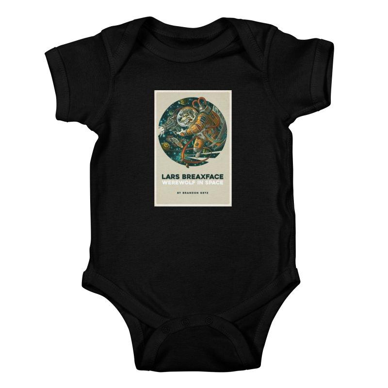 Lars Breaxface Cover - Joe Mruk Kids Baby Bodysuit by Spaceboy Books LLC's Artist Shop