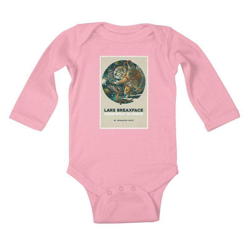 Lars Breaxface Cover - Joe Mruk Kids Baby Longsleeve Bodysuit by Spaceboy Books LLC's Artist Shop