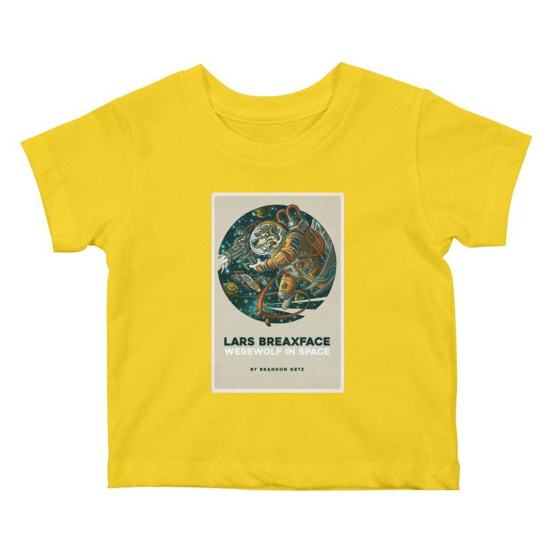 Lars Breaxface Cover - Joe Mruk Kids Baby T-Shirt by Spaceboy Books LLC's Artist Shop