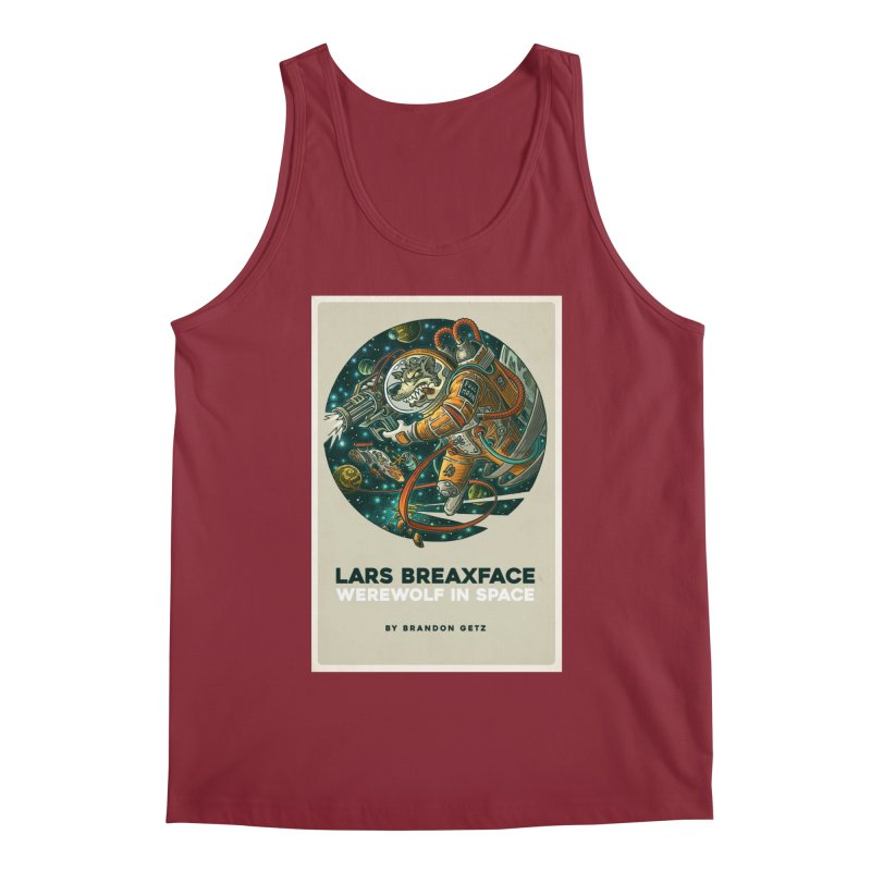 Lars Breaxface Cover - Joe Mruk Men's Tank by Spaceboy Books LLC's Artist Shop