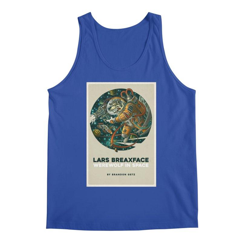Lars Breaxface Cover - Joe Mruk Men's Tank by Spaceboy Books LLC's Artist Shop