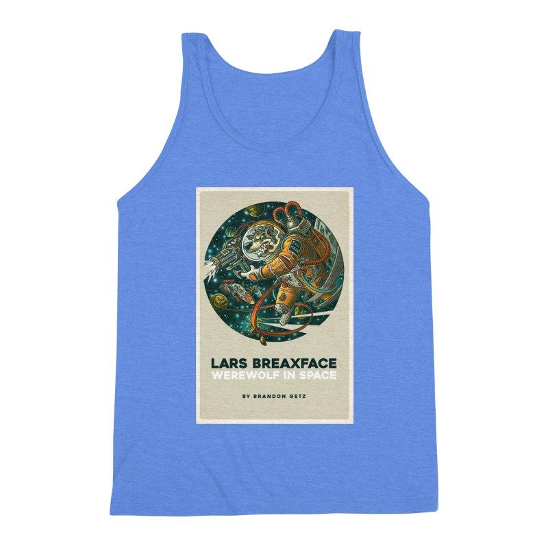 Lars Breaxface Cover - Joe Mruk Men's Triblend Tank by Spaceboy Books LLC's Artist Shop