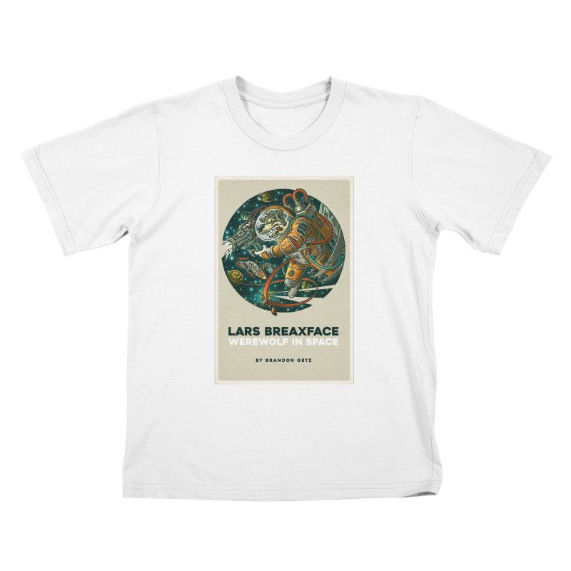 Lars Breaxface Cover - Joe Mruk Kids T-Shirt by Spaceboy Books LLC's Artist Shop