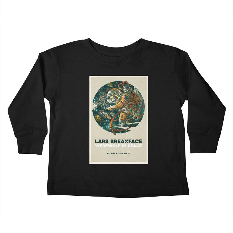 Lars Breaxface Cover - Joe Mruk Kids Toddler Longsleeve T-Shirt by Spaceboy Books LLC's Artist Shop