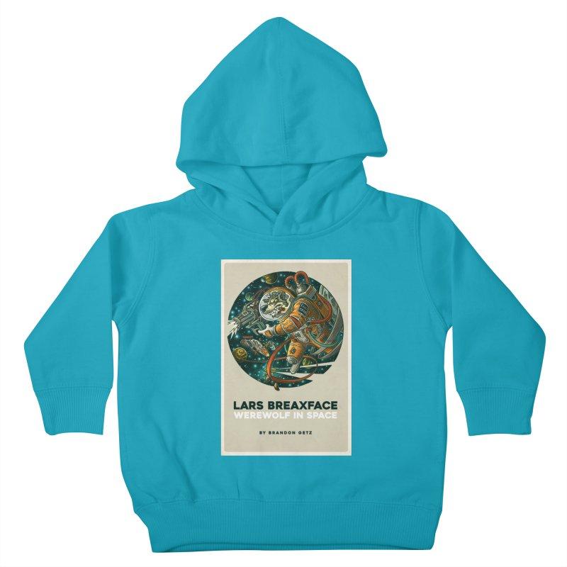 Lars Breaxface Cover - Joe Mruk Kids Toddler Pullover Hoody by Spaceboy Books LLC's Artist Shop