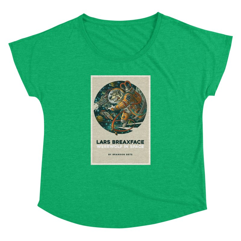 Lars Breaxface Cover - Joe Mruk Women's Dolman Scoop Neck by Spaceboy Books LLC's Artist Shop