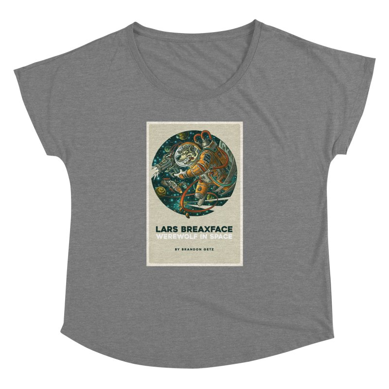 Lars Breaxface Cover - Joe Mruk Women's Dolman Scoop Neck by Spaceboy Books LLC's Artist Shop