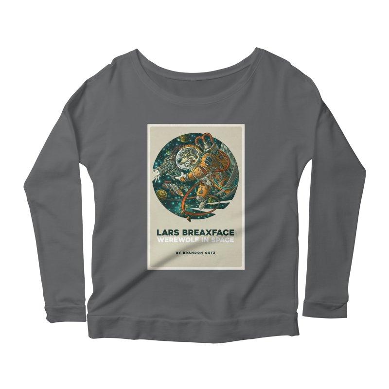 Lars Breaxface Cover - Joe Mruk Women's Longsleeve T-Shirt by Spaceboy Books LLC's Artist Shop