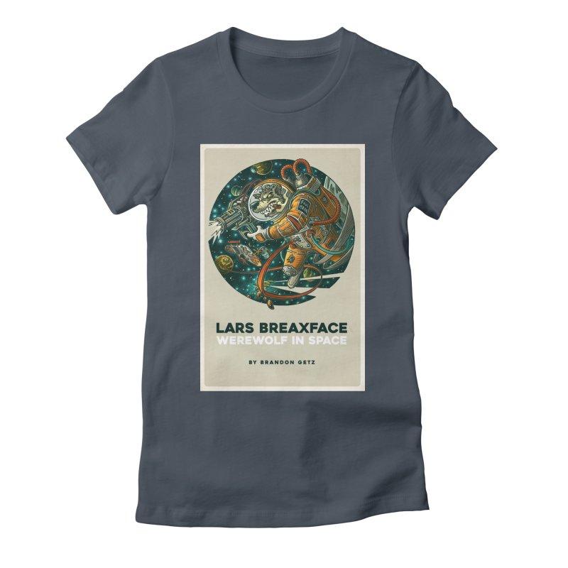 Lars Breaxface Cover - Joe Mruk Women's T-Shirt by Spaceboy Books LLC's Artist Shop