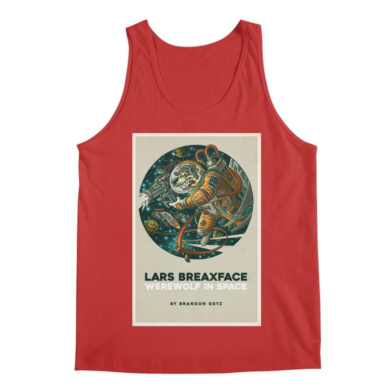 Lars Breaxface Cover - Joe Mruk Men's Regular Tank by Spaceboy Books LLC's Artist Shop