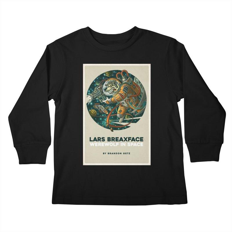 Lars Breaxface Cover - Joe Mruk Kids Longsleeve T-Shirt by Spaceboy Books LLC's Artist Shop