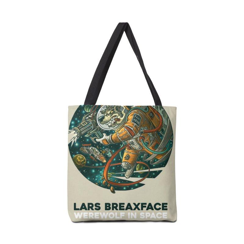 Lars Breaxface Cover - Joe Mruk Accessories Tote Bag Bag by Spaceboy Books LLC's Artist Shop