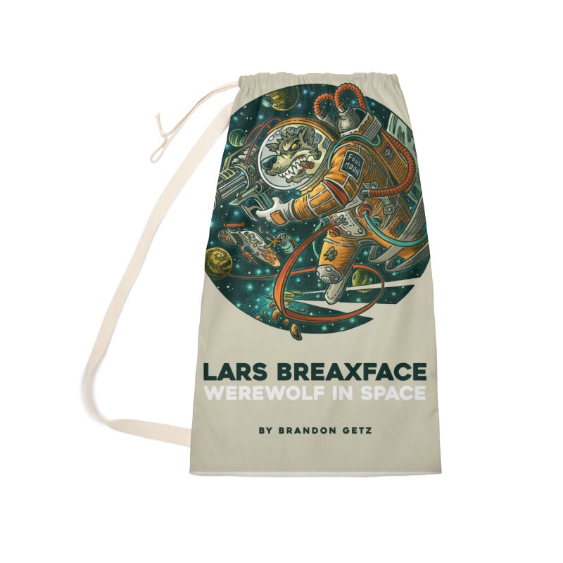 Lars Breaxface Cover - Joe Mruk Accessories Laundry Bag Bag by Spaceboy Books LLC's Artist Shop