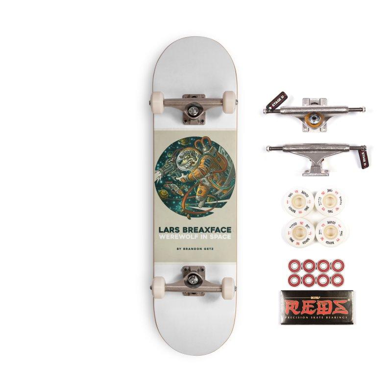 Lars Breaxface Cover - Joe Mruk Accessories Complete - Pro Skateboard by Spaceboy Books LLC's Artist Shop